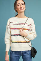 Sessun Oversized Striped Wool Pullover