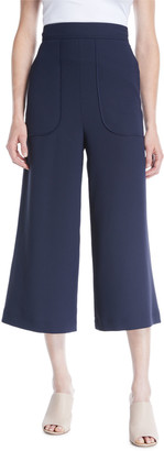 See by Chloe Cropped Wide-Leg Pants