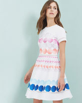 Ted Baker Marina Mosaic skater dress