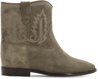 Isabel Marant 60mm Crisi Suede Ankle Boots