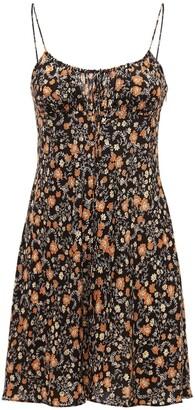 Bec & Bridge Janice Silk Mini Dress