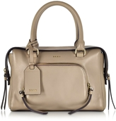 DKNY Greenwich Leather Small Satchel Bag