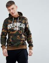 Pull&Bear Hoodie With Logo In Camo