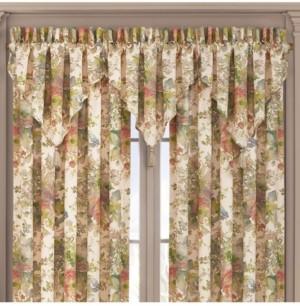 J Queen New York J Queen Floral Park Window Ascot Valance Bedding