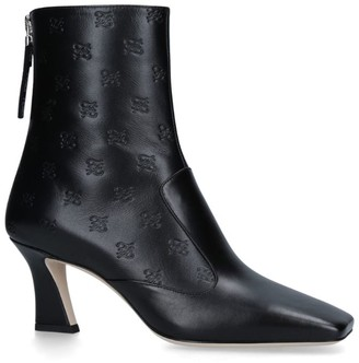 Fendi Leather Ffreedom Ankle Boots 65