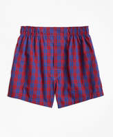 Brooks Brothers Holiday Plaid Boxers