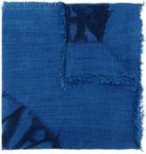 Diesel head print scarf - unisex - Viscose - One Size