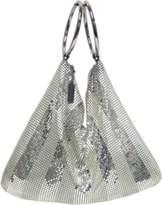 Whiting & Davis Matte Shine Stripes Bracelet Bag.