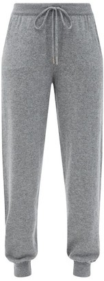 Johnstons of Elgin Josephine Cashmere Track Pants - Grey