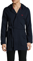 Emporio Armani French Terry Athletics Robe