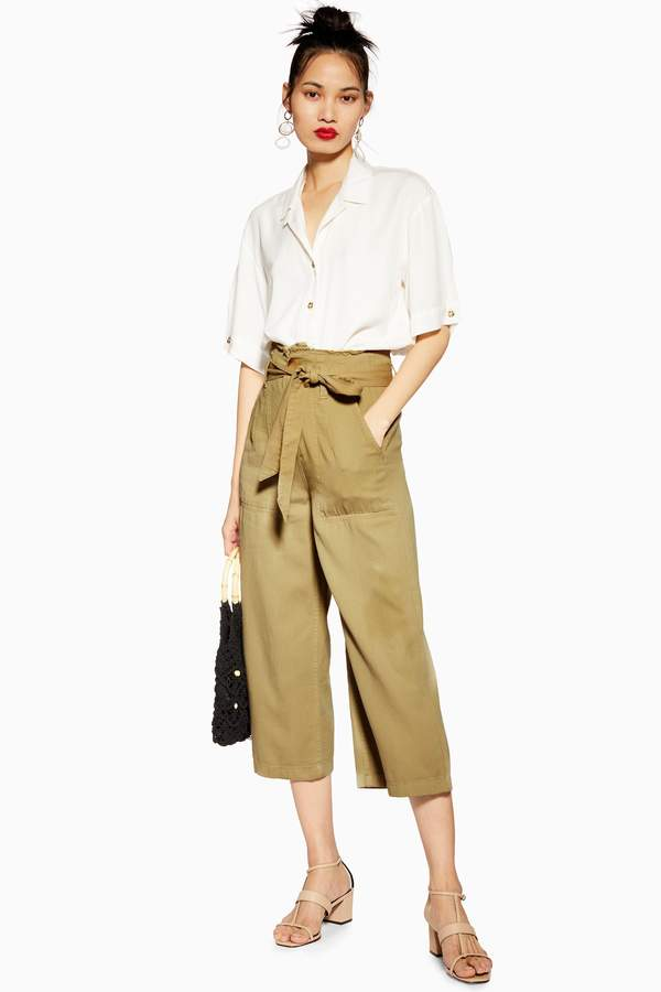 b831ee0a9958 Womens Khaki Pants Wide Leg - ShopStyle