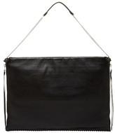 AllSaints Fleur De Lis Leather Shoulder Bag