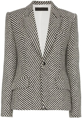Haider Ackermann striped tailored blazer