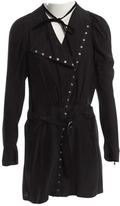 JC de CASTELBAJAC Black Silk Dresses
