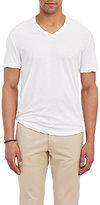 James Perse Men's V-neck T-shirt-WHITE