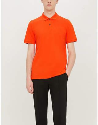 BOSS Hugo Slim-fit cotton-piqué polo shirt
