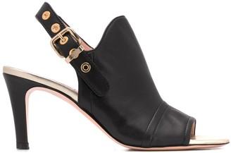 AGL Slingback Buckle Strap Sandals