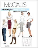 Mccall's M3830 Misses' Skirts In 5 Lengths