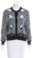 Just Cavalli Patterned Knit Cardigan