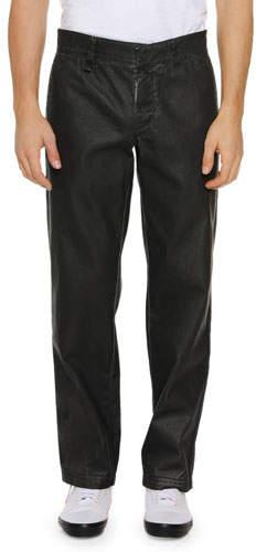 Off-White Men's Straight-Leg Cotton Chino Pants