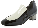 Robert Clergerie Patsy Bicolor Patent Leather Loafer