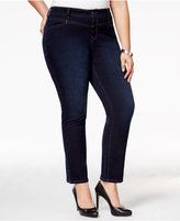 Style&Co. Style & Co Plus Size Split-Hem Jeans, Only at Macy's