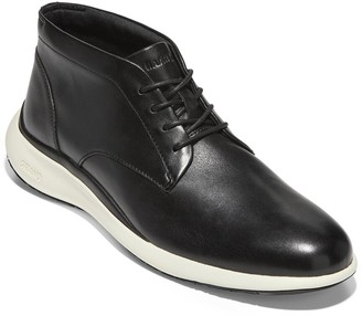 Cole Haan Grand Troy Leather Chukka Boots