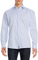 Strellson Slim Fit Textured Sportshirt