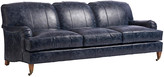 Barclay Butera Sydney Sofa - Blue Leather