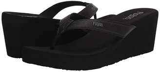 Flojos Olivia Vintage (Black) Women's Sandals