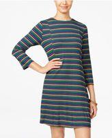 Speechless Juniors' Striped Swing Dress
