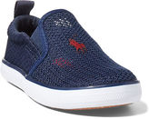 Ralph Lauren Kenton Mesh Slip-On Sneaker