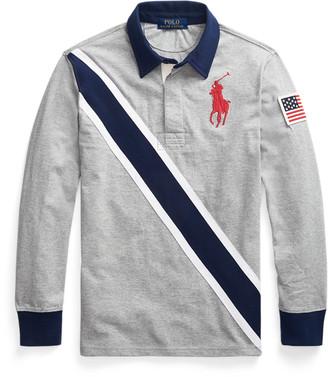 Ralph Lauren Big Pony Cotton Rugby Shirt