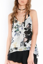 Dex Flowy Floral Tank Top