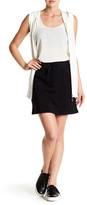 Cable & Gauge Drawstring Skirt