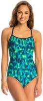 Nike Blurred Lines Lingerie Tank One Piece Swimsuit 8137420