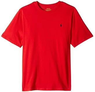 Polo Ralph Lauren Cotton Jersey Crew Neck T-Shirt (Big Kids)