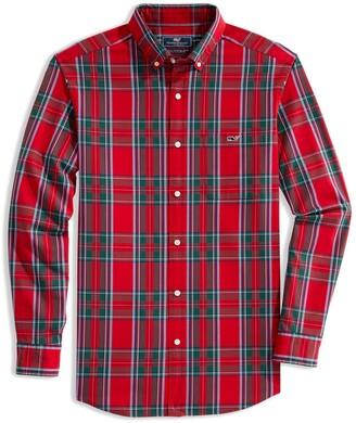 Vineyard Vines Tucker Classic Fit Tartan Plaid Button-Down Shirt