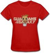 Ymm1o Groot T-shirt For Woman 100% Organic Cotton L