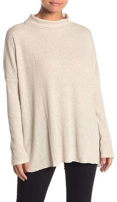 Abound Long Sleeve Ribbed Knit Tunic