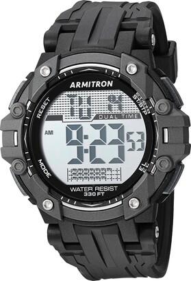 Armitron Sport Men's 40/8429BLK Digital Chronograph Black Resin Strap Watch