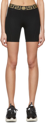 Versace Underwear Black Medusa Bike Shorts