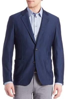 Armani Collezioni Mesh Jacket