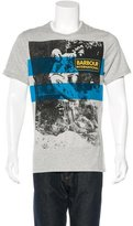 Barbour Motorcycle Graphic T-Shirt w/ Tags
