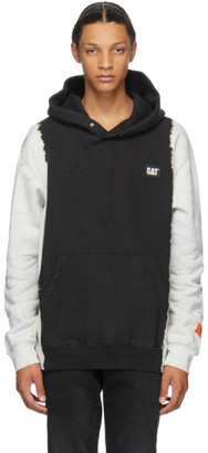 Heron Preston Black Caterpillar Edition Fleece Hoodie