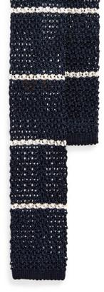 Ralph Lauren RL Anchor Knit Silk Tie