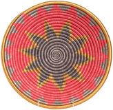 All Across Africa 12 Dancer Basket, Poppy/Multi