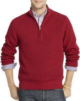 Izod Quarter-Zip Shaker Sweater