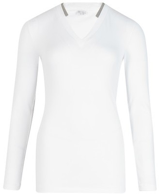Brunello Cuccinelli Ribbed jersey T-shirt