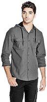 GUESS Men's Augustus Houndstooth Shirt